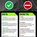 Infographic: 8 Simple Do's and Don'ts When Working With Scaffolding