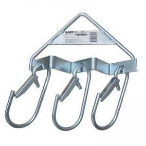 Three way scaffold fram lifting hook (Italy)