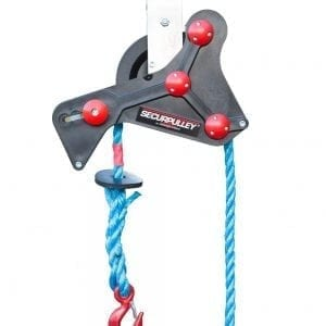 Securpulley Straight Arm Secure Pulley