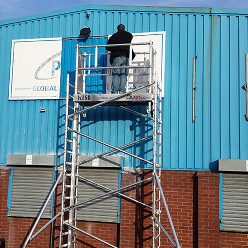 Alulift Industrial Mobile Scaffold Tower 1-12m LOCKHARD