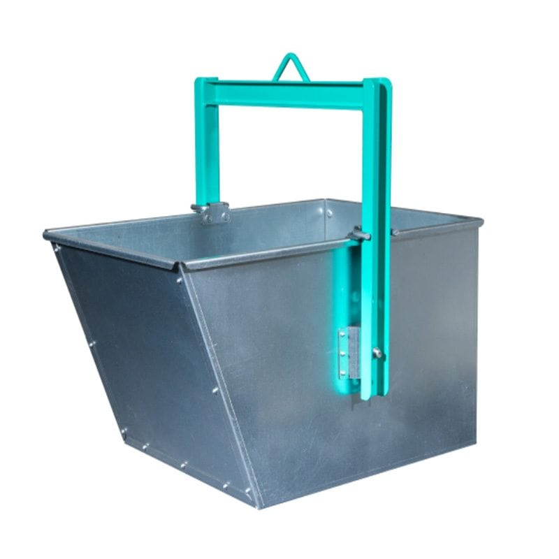 Imer 120 Litre Wedge Shaped Liftable Bucket