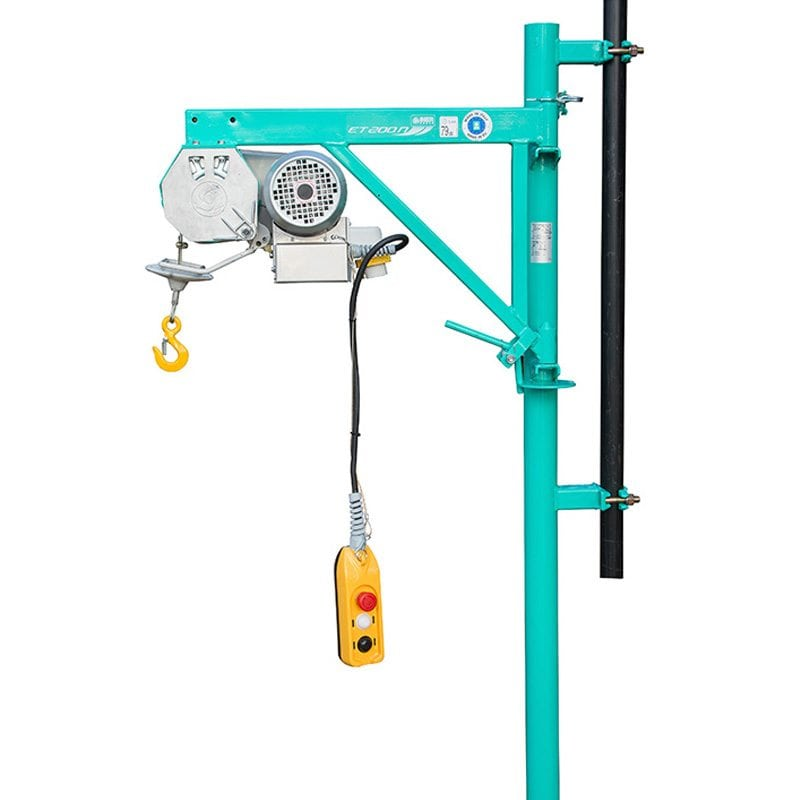IMER ET200N High Capacity 200kg 30m Scaffold Wire Rope Hoist