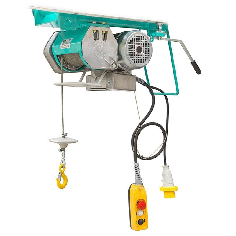IMER G500 High Capacity 500kg 42m Gantry Wire Rope Hoist