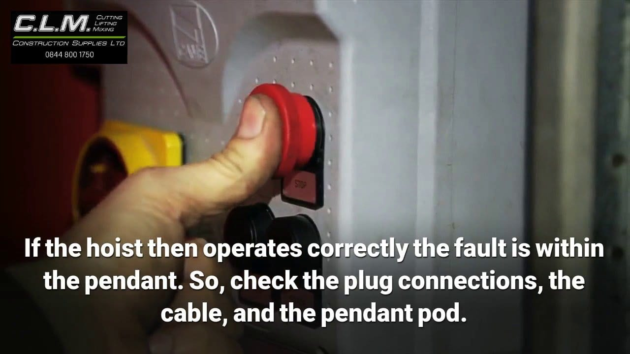 Electrical Faults in Hoists: Finding and Repair – Video
