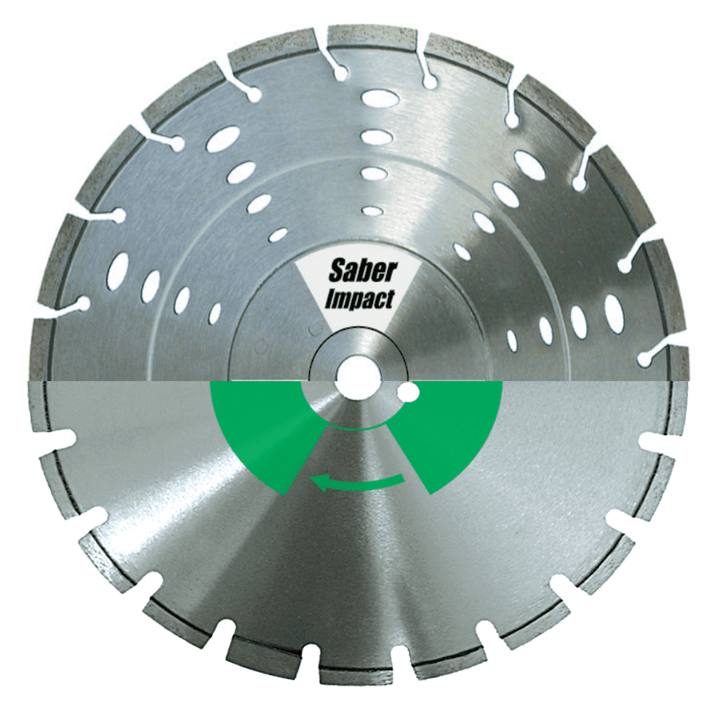 SABER CSG Premium Multi Purpose/Hard Material Diamond Blades